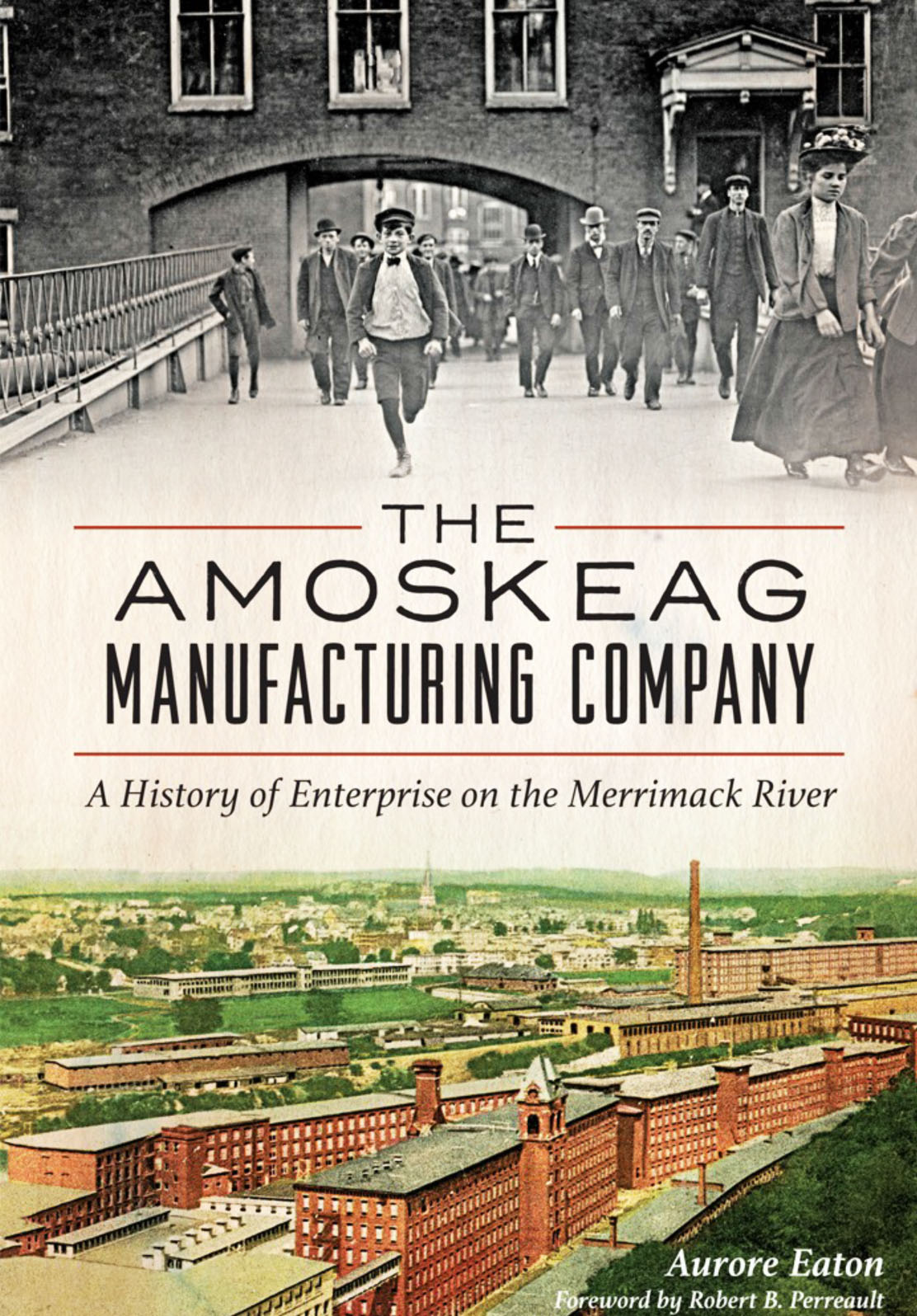 Amoskeag history - book cover image